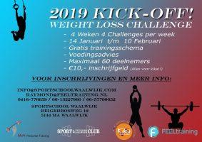 2019 Kick-Off FEELtraining sport voor Kika